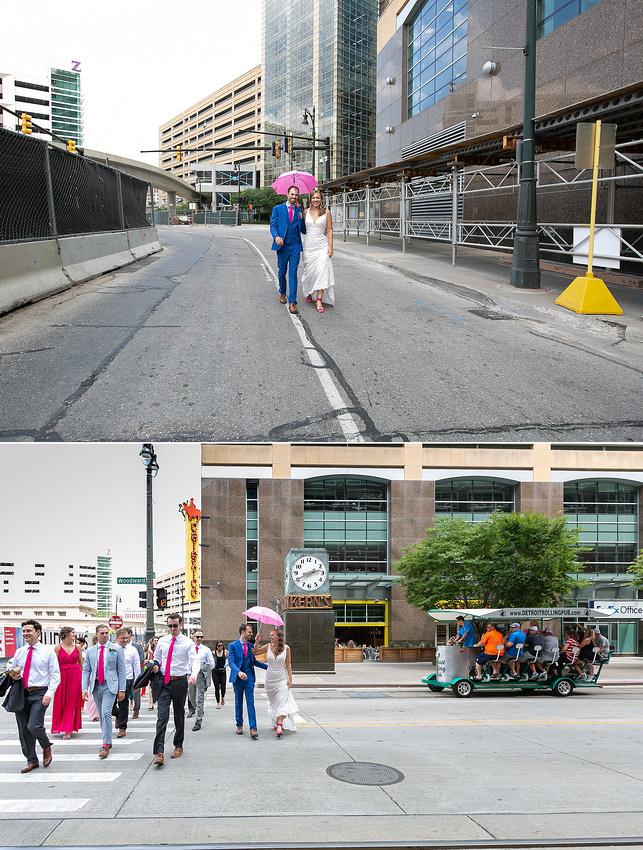 street wedding portraits by Katrina Cross Photography