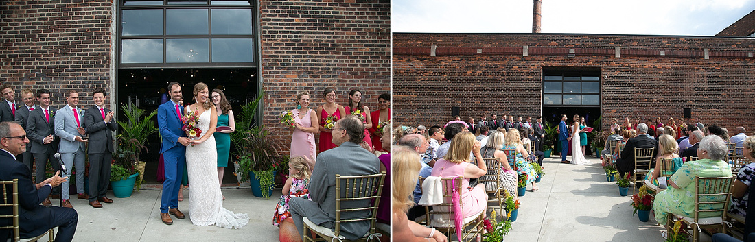 outdoor wedding at the Eastern photographed by Katrina Cross Photography