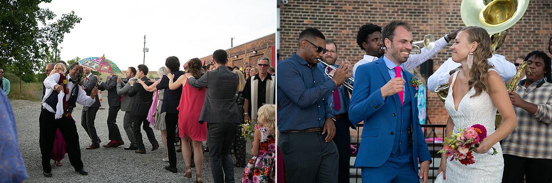 Detroit MI wedding reception photographed by Katrina Cross Photography